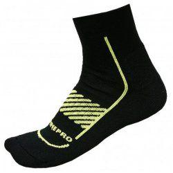 Чорапи Alpine Pro Amirah 564 черно и зелено