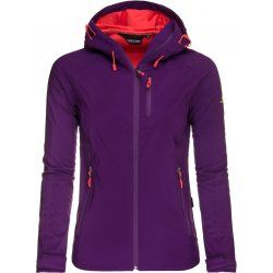 Women's Softshell jacket Hannah Casia, Grape royale