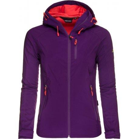 Women's Softshell jacket Hannah Casia, Grape royale - 1