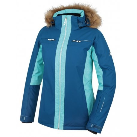 Дамско яке за ски и сноуборд Hannah Jill Curacao mel - 1