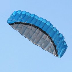 Foil Kite, color blue 2.0m2