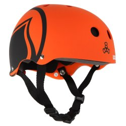 Helmet Liquid Force ICON orange