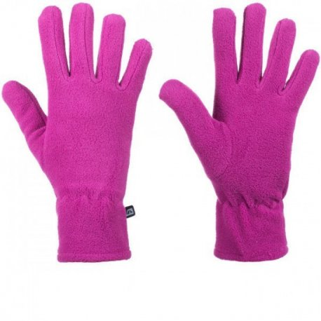 Women's gloves Alpine Pro Nola pink fleece - 1