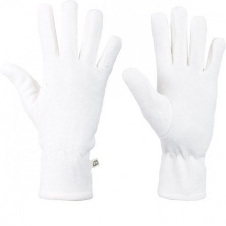 Дамски ръкавици полар Alpine Pro Nola бели - 1