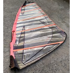 Windsurf sail Tushingham Storm 4.5 red