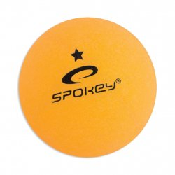 Table tennis balls Spokey Lerner orange - 1