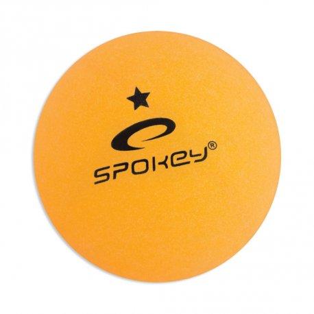 Топчета за тенис на маса Spokey Lerner оранжеви 6бр - 1