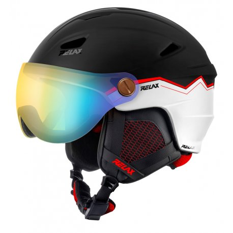 Каска с визьор за ски и сноуборд Relax Stealth RH24J - 1