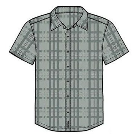 Men's shirt Alpine Pro Balance grey - 1