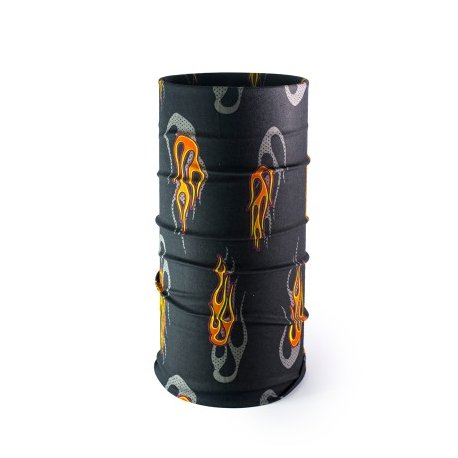 Multi-purpose headwear 104 black and orange - 1