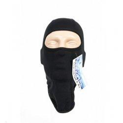 Тънка качулка - шлем - черна - 1