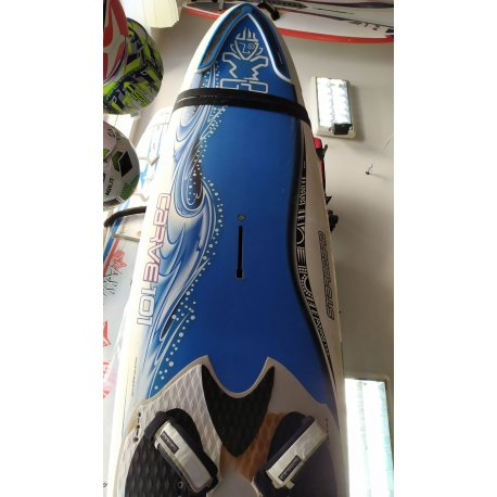 Windsurf board Starboard Carve 101L with fin - 1