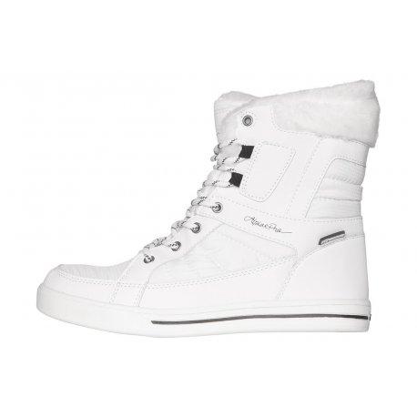 Обувки дамски с мембрана Alpine Pro Ramparta White - 1