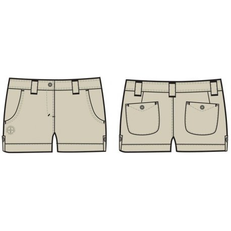 Women's pants Alpine Pro Leonte - 1