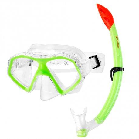 Mask, Snorkel Set Spokey Alor Junior - 1