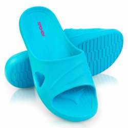 Slippers Spokey Isola turquoise