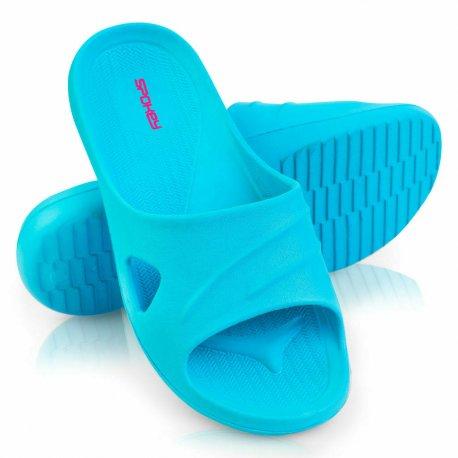Slippers Spokey Isola turquoise - 1
