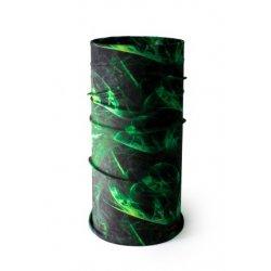 Мултифункционална кърпа за глава - 93 зелена
