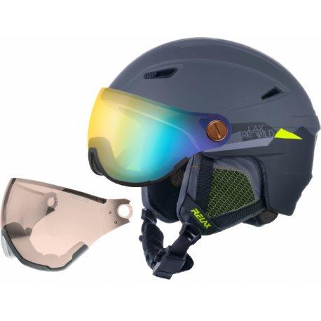 Каска с визьор за ски и сноуборд Relax Stealth RH24Q - 1