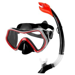 Mask and Snorkel Set Spokey Borneo