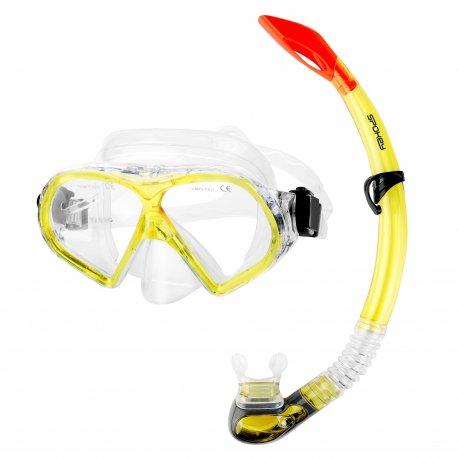 Mask and Snorkel Set Spokey Flona - 1