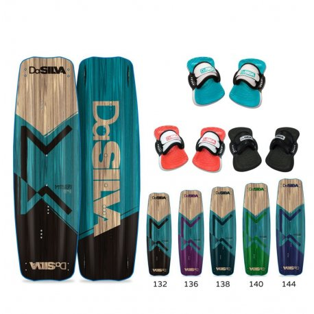 Kite board DaSilva DaMystery set with straps - 1