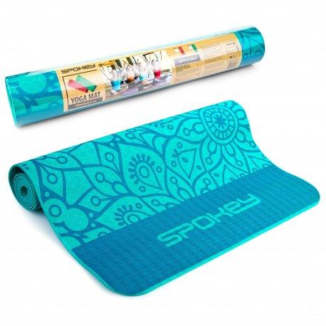 Yoga mat Spokey Mandala green - 1