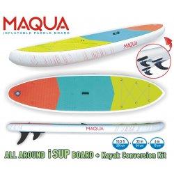 Надуваем SUP / каяк Maqua Kayak