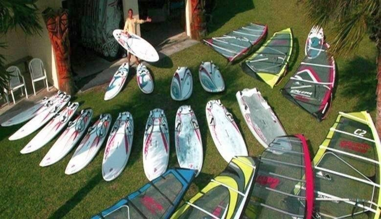 Windsurf, snowkite and kitesurf equipment and rental